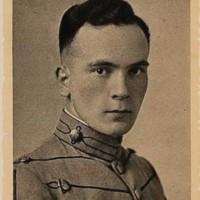 Gordon Earl Johnson senior portrait from the 1917 Bugle.jpg